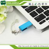 Superventas Swivel USB Flash Drive USB de logotipo personalizado