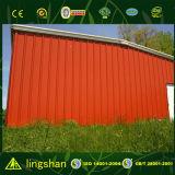 Edificio de la vertiente del almacén de la granja de la estructura de acero del bajo costo