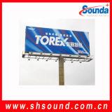 Producto caliente! ! ! 40gsm / 500D * 500D / 9 * 9 / Frontlit Blockout PVC bandera de la flexión