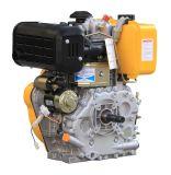 Pequeño enfriado por aire de un cilindro de Motor Diesel