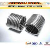 TP304/304L, tubo inoxidable de la bobina del cambiador de calor de Tp316//316L ASTM A269