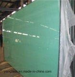 Verre feuilleté coloré décoratif avec le film estampé de configuration ou de couleur PVB ou couleur teintée en verre