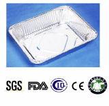 Écolo-écologique et élimination pour un bac à papier en aluminium à usage de cuisine