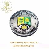 Het Stempelen van het Embleem van de School van de Medailles van de douane In het groot die Metalen in Muntstukken worden gebruikt