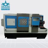 Macchina del tornio di CNC della base piana di potere 5.5kw del motore dell'asse di rotazione