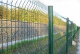 Покрынная PVC гальванизированная сваренная разделительная стена хайвея загородки ячеистой сети
