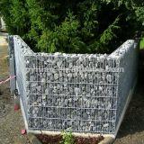 100X100X100cm galvanisierte Gabion Stein-Stützmauer