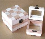 목제 보석함 감미로운 나무로 되는 저장 상자 선물 상자 세트