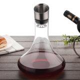 Os exportadores do decantador de óleo no decantador de vidro Cristal Design Dom Decantador de Vinho Vinho conjunto decantador de óleo