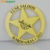 Distintivo all'ingrosso su ordinazione di Pin di metallo