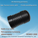 Précision POM noir tournant d'usinage CNC pour machine automatique de pièces