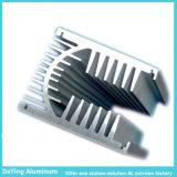 Profil de anodisation de couleur d'extrusion en aluminium en aluminium d'usine