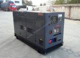 Gerador diesel insonorizado com motor Perkins 100kVA / 80kw