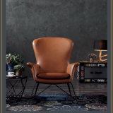 De estilo clásico, esperando un solo asiento sofá silla de salón de ocio (A016C)