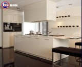 Customized Glossy UV Flat Pack Kitchen Cabinets (muitos projetos)