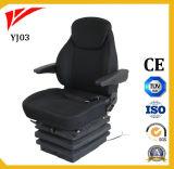 Assento giratório de cadeira de operador de guindaste de ar de luxo