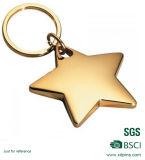 Anello chiave del fornitore del metallo delle stelle marine cinesi della stella da vendere (KC-033)