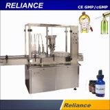 Automático pequeño frasco de perfume de vidrio Máquina de Llenado y Tapado