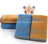 中国の工場は35X75cmの120g明白に染められたホテルのホーム浴室タオル、表面タオル、手タオルを供給する