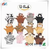 8.25 Duim Dieren van de Handpop van de Marionetten van 12 Stukken de Dierlijke Geassorteerde omvat Armen en Benen
