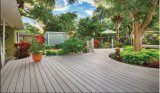 Piso em deck composto Wood-Plastic sintético para varanda