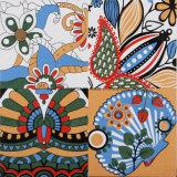 El norte de Europa el estilo de decoración de pared y piso de porcelana esmaltada azulejo mosaico de suelos de 300x300mm F015