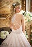 Neues Heiß-Verkaufenbraut-Hochzeits-Kleid des organza-2016, angepasst
