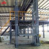 中国のベストセラーの高品質のセリウムISOの証明の産業油圧縦の貨物商品の人のエレベーター