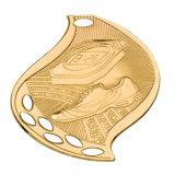 Personalizar estampando maratón en 3D de oro Medalla de Honor Militar hierro polo