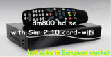 Anblick Satellite Programs mit New 800HD SE Satellite Receiver