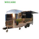 高水準の高品質BBQの移動式食糧トラック
