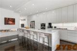 流行の高い光沢のある白いラッカー食器棚(BY-L-116)