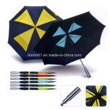 صنع وفقا لطلب الزّبون بلاستيكيّة مقبض دليل استخدام مفتوح سيّارة ختام مظلة [فولدبل]