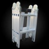 Складная лестница алюминиевых деталей многофункциональной рукоятки с маркировкой CE утвержденных