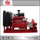 8inch de Vastgestelde Eenheid van de Pomp van het water met Dieselmotor voor de Irrigatie van de Landbouw
