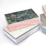 Panneaux décoratifs de revêtement avec la couche d'isolation thermique
