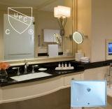 Фарфор Cupc и керамическая раковина сосуда для самомоднейшей ванной комнаты (SN018)