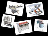 Machine chaude de presse de mélamine courte de cycle pour le placage de face de film de contre-plaqué
