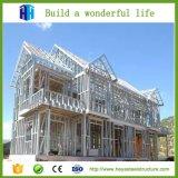 Prefab светлая роскошь конструкции дома стальной рамки датчика