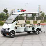 Auto van de Ziekenwagen van het Ziekenhuis van 6 Zetels van Ce de Veilige Elektrische Elektrische (dvjh-1)