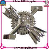 Metallpolizei Badge für Pin-Abzeichen mit der kleinen annehmbaren Ordnung