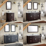 Fed-1985 mobilia moderna di vendita calda della stanza da bagno dei 60 dispersori doppi di pollice
