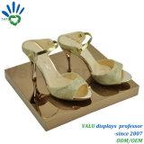 Стойка индикации выставки магазина ботинок металла