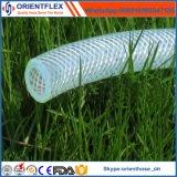 Tuyau renforcé de fibre de PVC anti-érosion non toxique