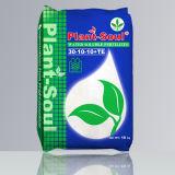 NPK fertilizante soluble en agua (30-10-10+TE) fabricante de fertilizantes