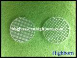 Finestra di vetro trattata profonda del quarzo fuso del luogo di perforazione di resistenza termica