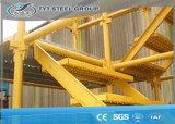 건축재료를 위한 Q235 Panited 건축 비계 시스템 Kwikstage 비계