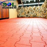 Couvre-tapis extérieur à haute densité en caoutchouc d'étage de passage couvert