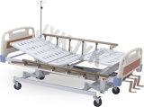 Cama de hospital manual de tres funciones y eléctrica