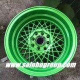 Bordas coloridas da roda da liga do carro do mercado de acessórios de F55906 15inch